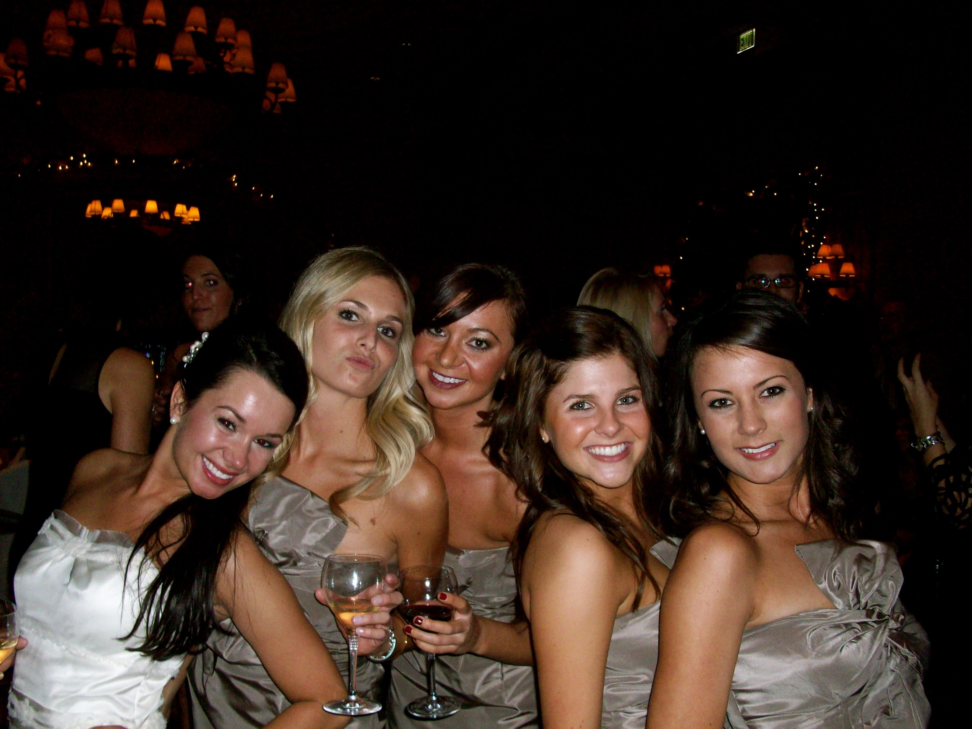 Lindsay Cook Wedding Bridesmaids