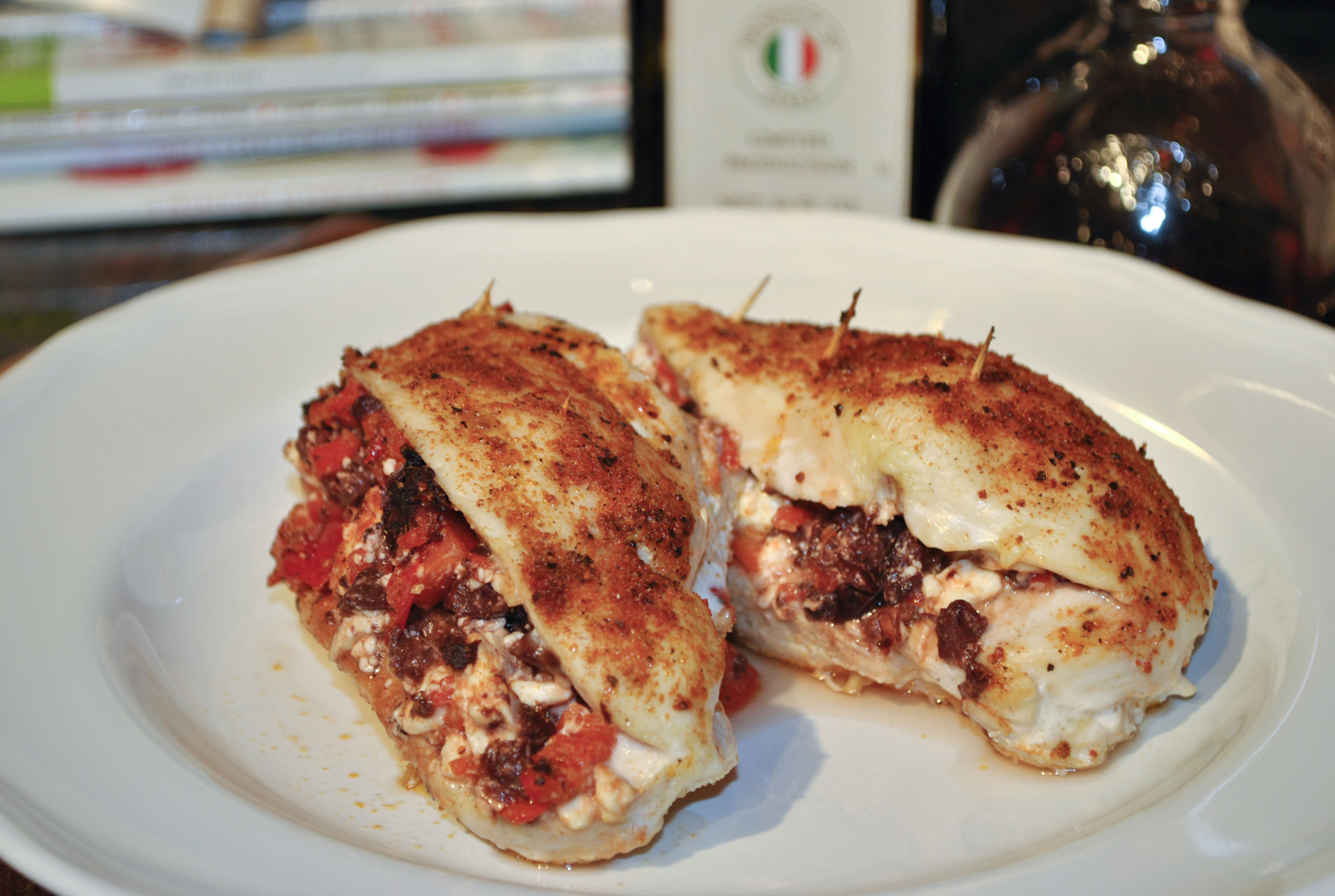 stuffed chicken stuffed chicken breasts mediterranean style stuffed ...