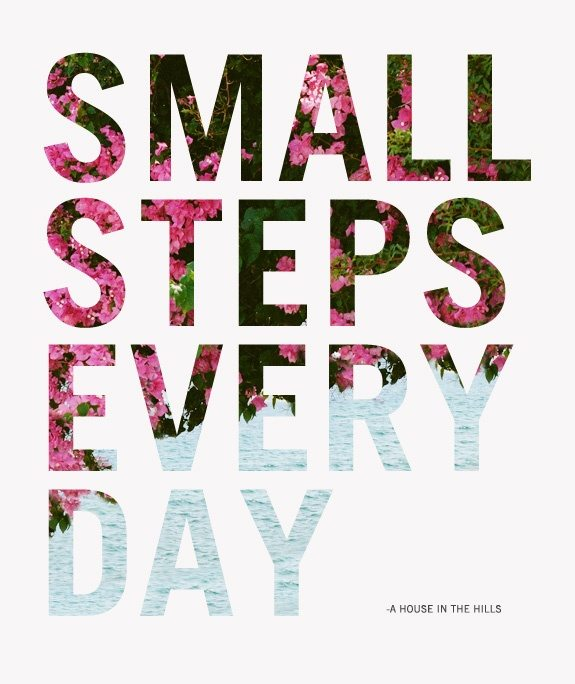 Life Lesson: One Step at a Time