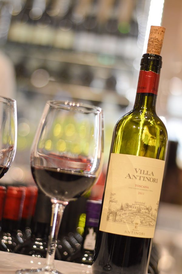 Wine at Eataly
