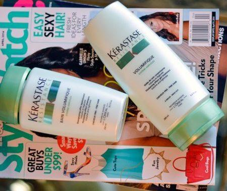 Kerastase volume shampoo and conditioner