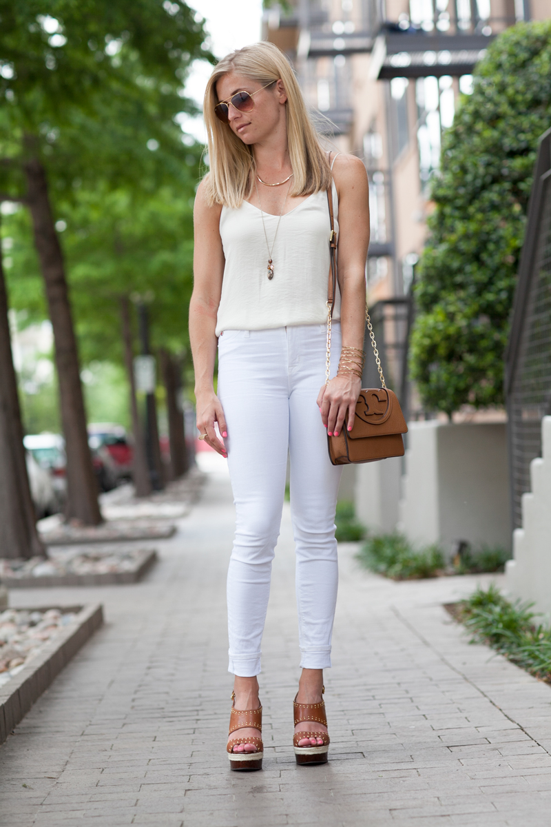 White Out One Small Blonde Dallas Fashion Blogger