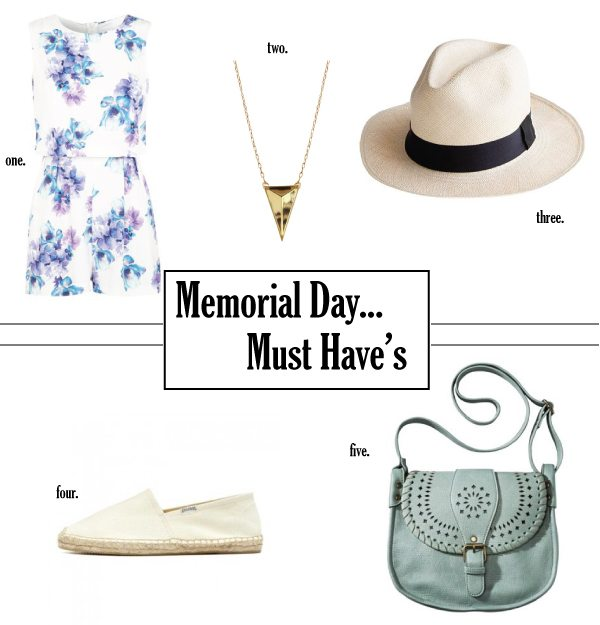Memorial Day picks
