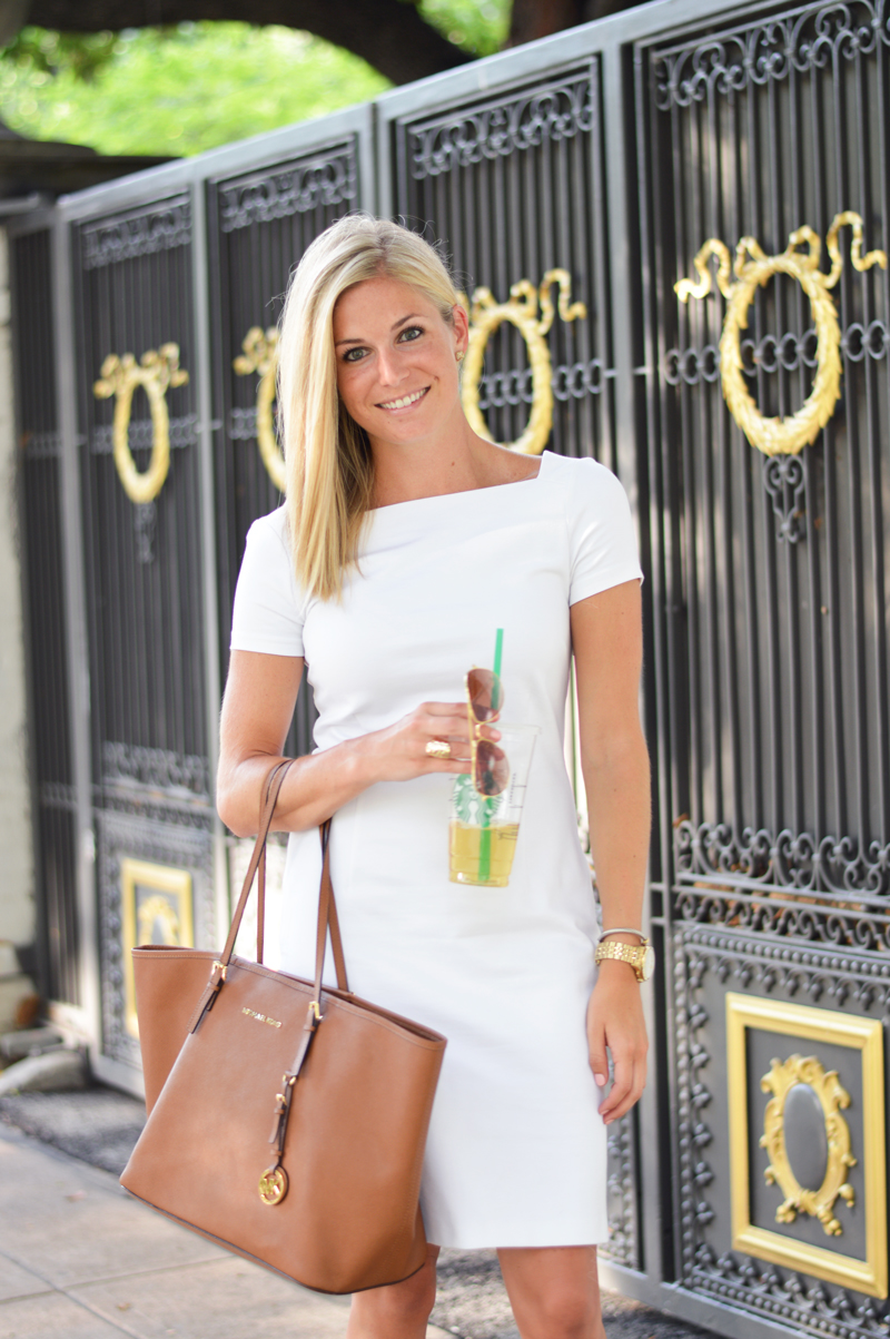 white work dress