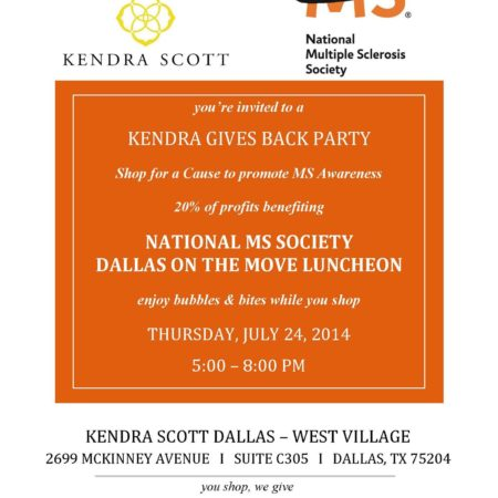 Kendra Scott Gives Back with the National Multiple Sclerosis Society