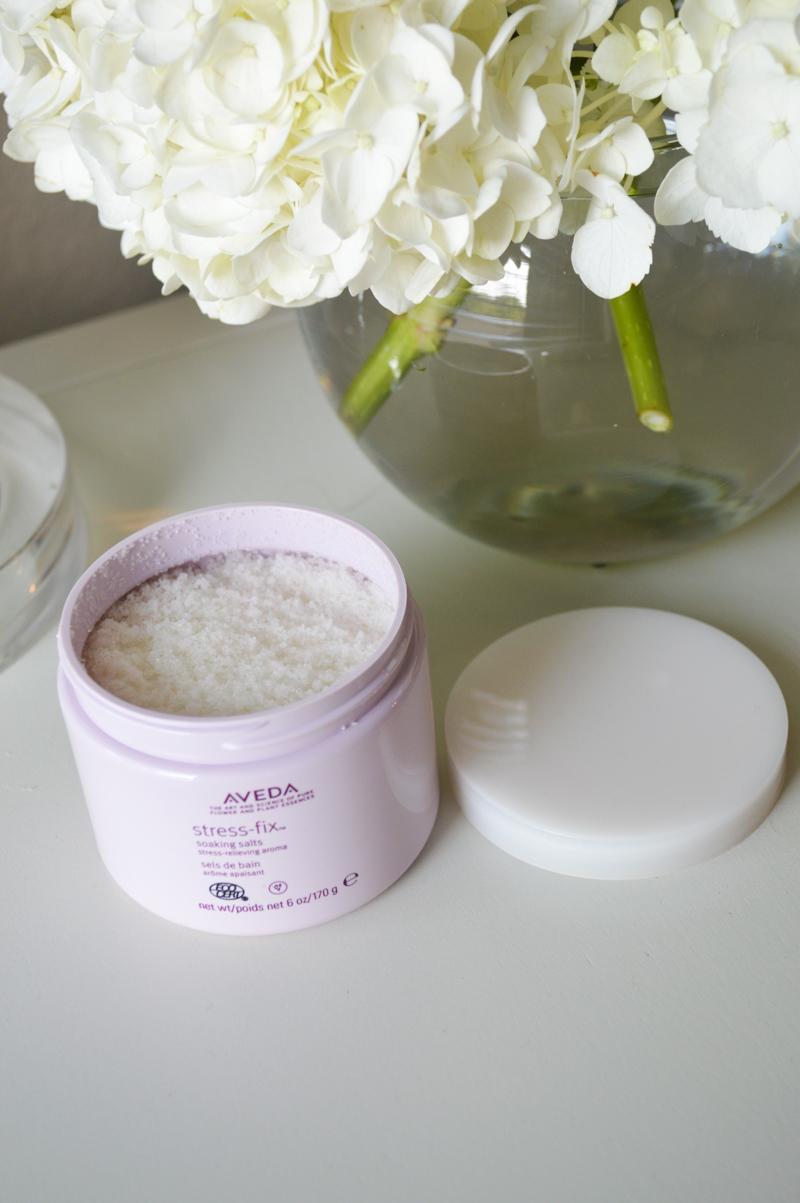 Aveda stress fix soaking bath salts
