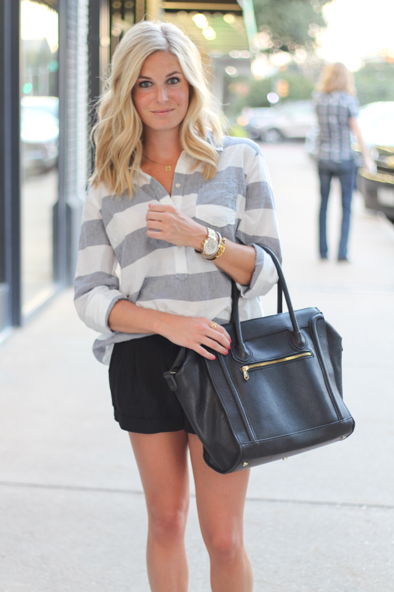 leopard sneakers and stripes