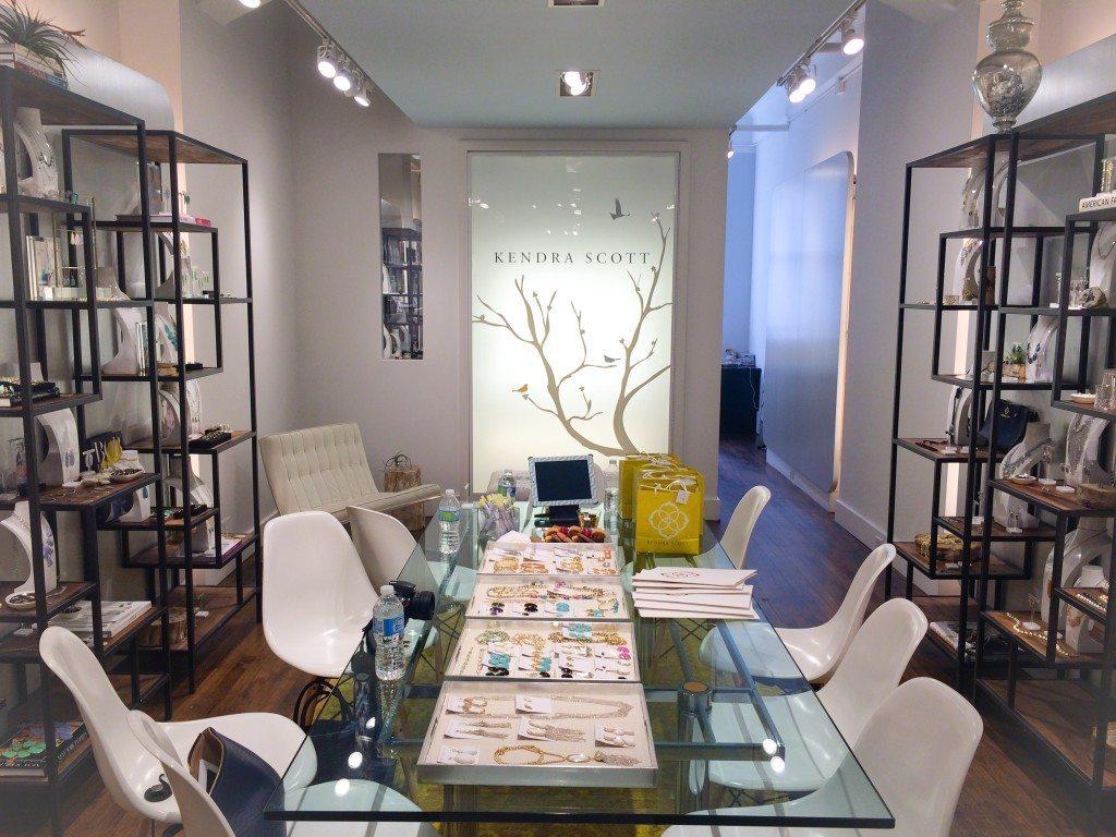 Kendra Scott NY Showroom