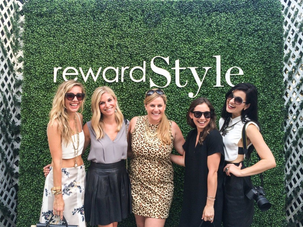 Reward Style party