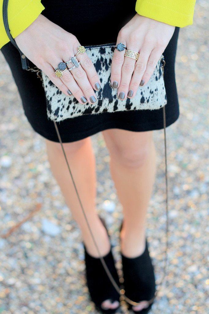 Kendra Scott Starstruck drusy rings