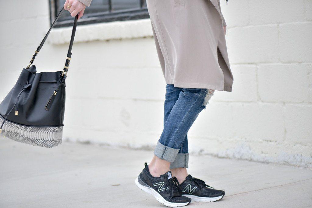 black new balance training shoes