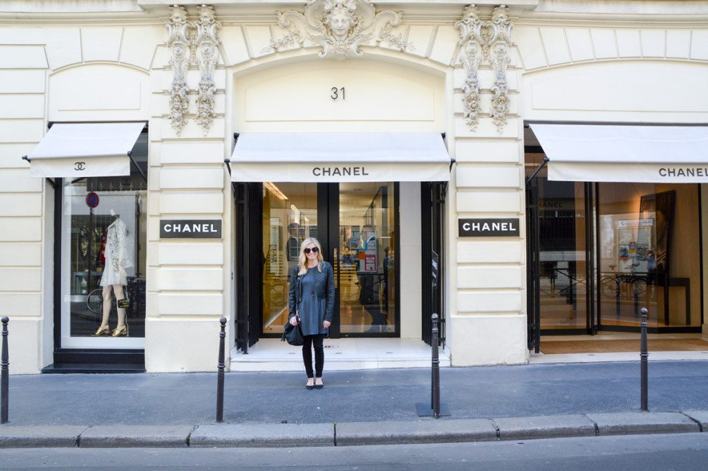 original Chanel store Paris