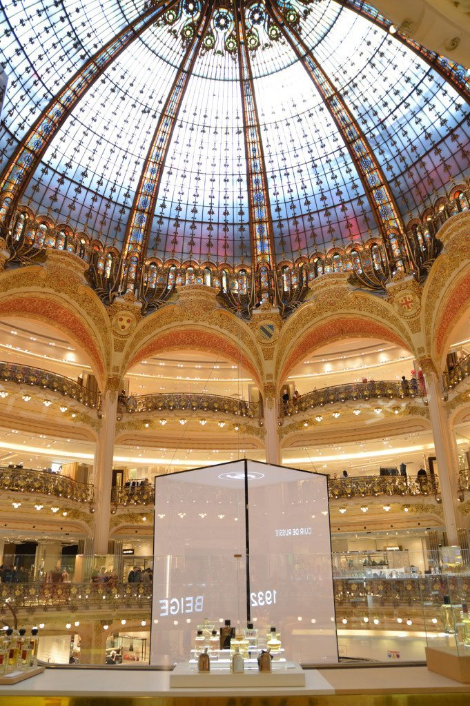 Galleries lafayette in paris