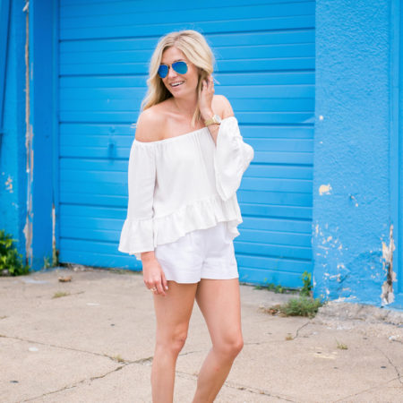 white off the shoulder top-topshop boho top-dallas fashion blogger