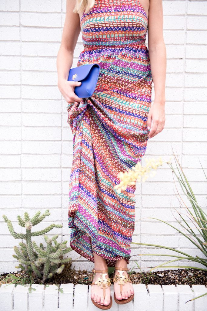 multi color maxi dress-cynthia steffe dresses