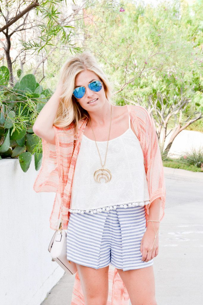 boho chic-bcbgeneration-printed beach wrap-dallas fashion blogger