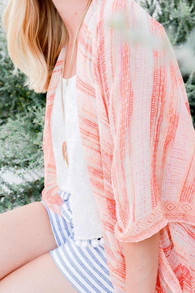 orange stripe beach wrap-bcbg-gengirl-beach style