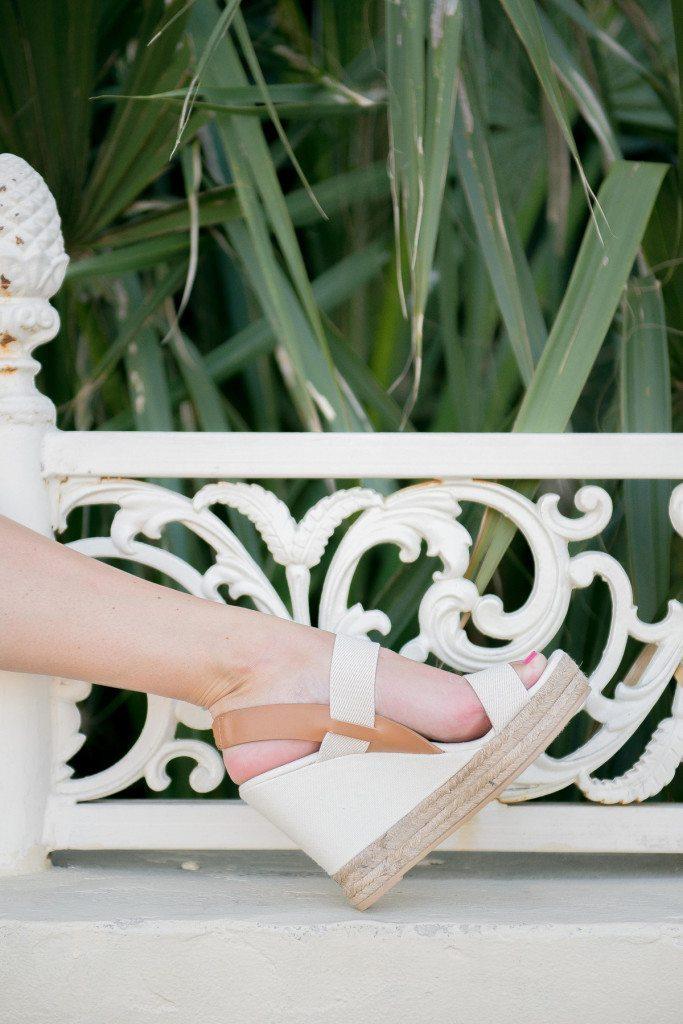 tory burch espadrille sandal-two band wedge slingback-white wedge sandal
