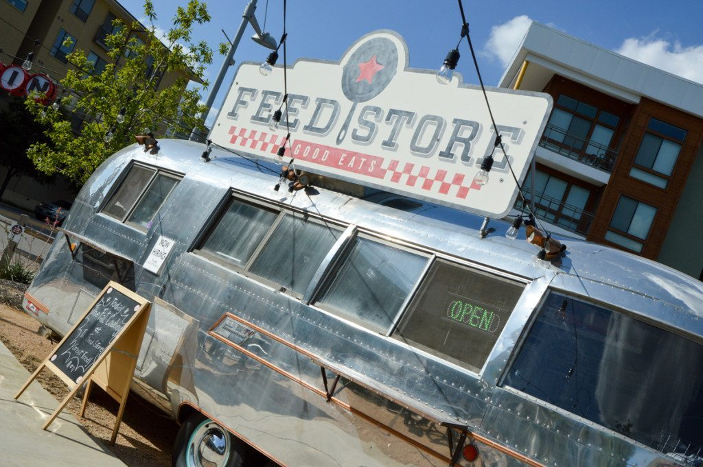 feed store outside of lone star court