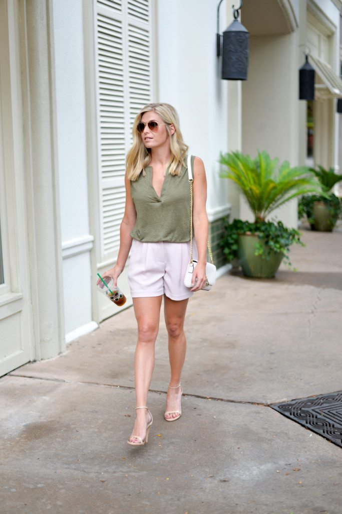 Olive Green And Pink Outfit Ideas