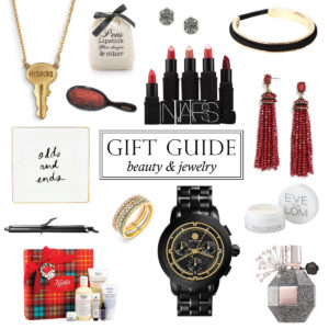 GIFT GUIDE: BEAUTY & JEWELRY