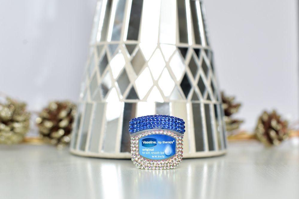 BaubleBar Bejeweled Vaseline Lip Therapy Original Jar