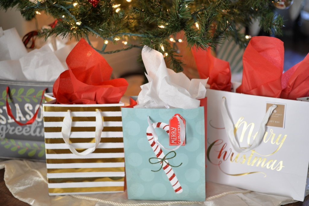 holiday wrapping-sugar paper christmas bags