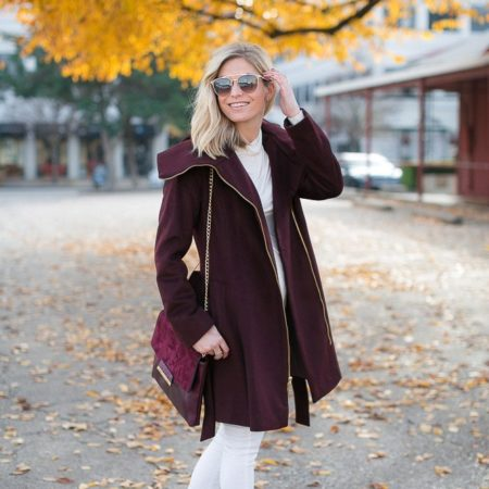 burgundy wrap coat-marsala color of the year outfit-how to wear burgundy-winter outfit inspiration-dallas fashion bloggers