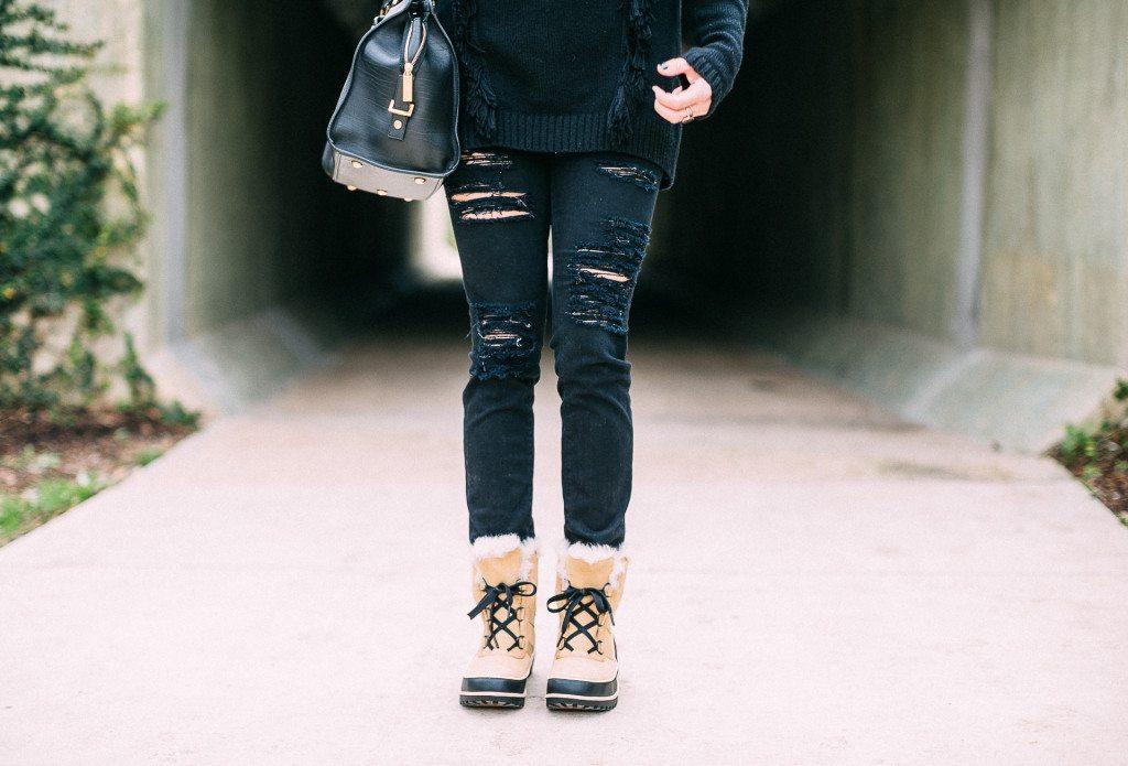 sorel tan short boots