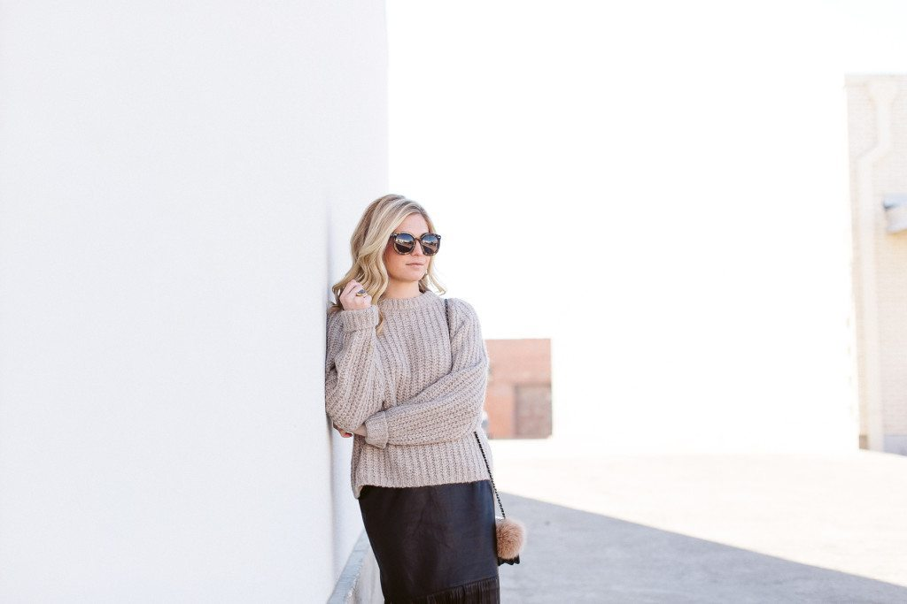 oat oversized sweater