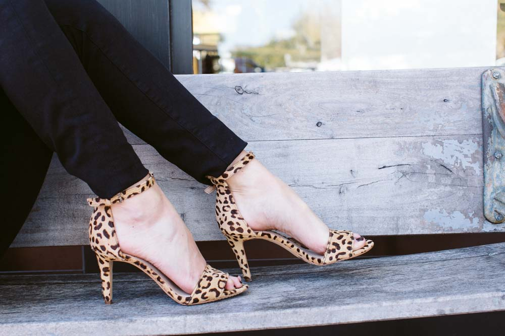 leopard ankle strap sandal vince camuto