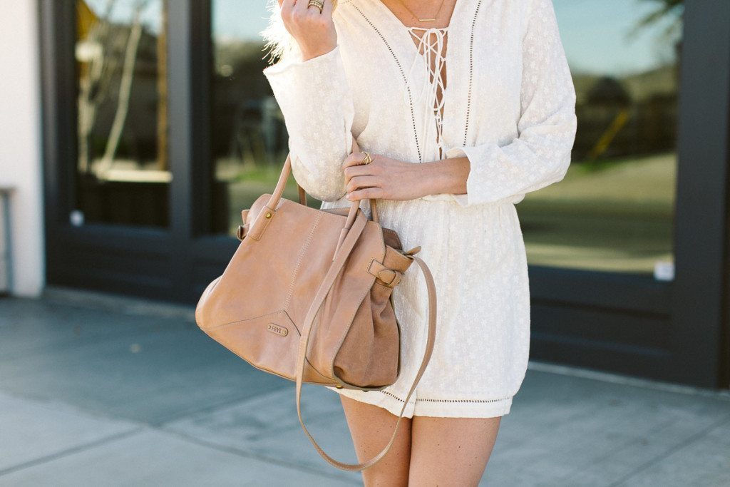 frye boots sophie satchel-lace up romper