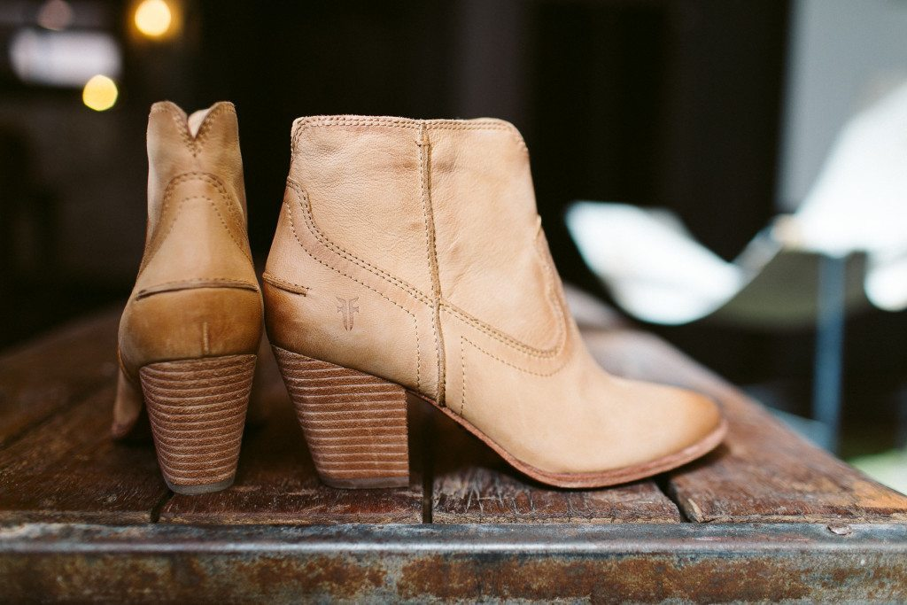 frye renee seam short bootie