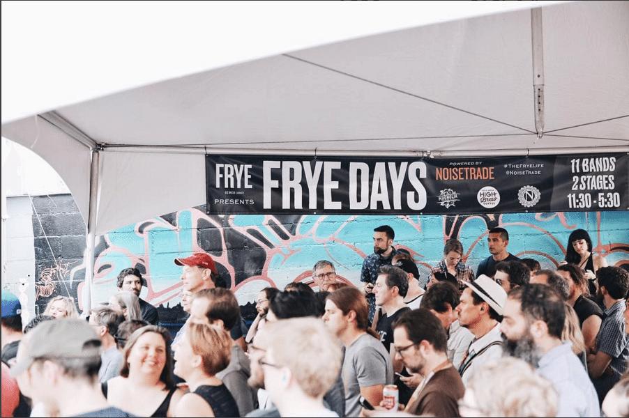 frye days noisetrade sxsw festival