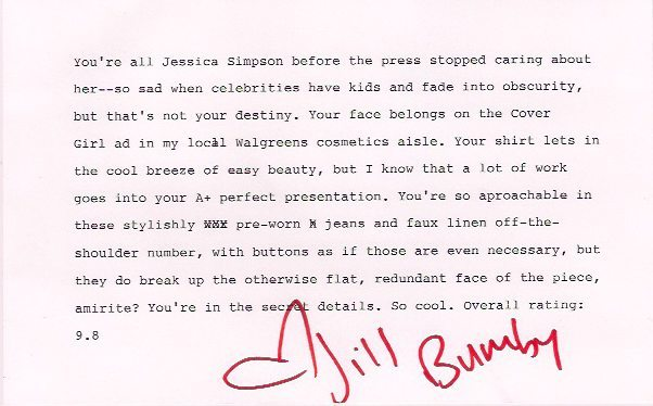 the bumbys outfit appraisal