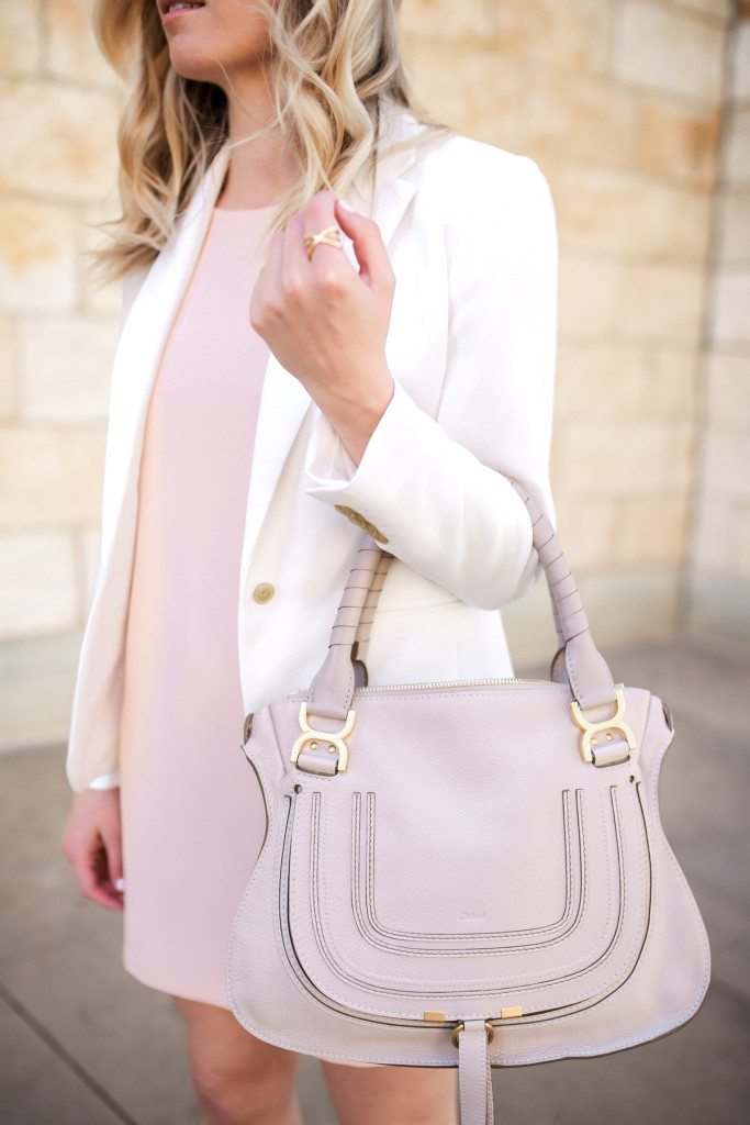 chloe marcie satchel off white
