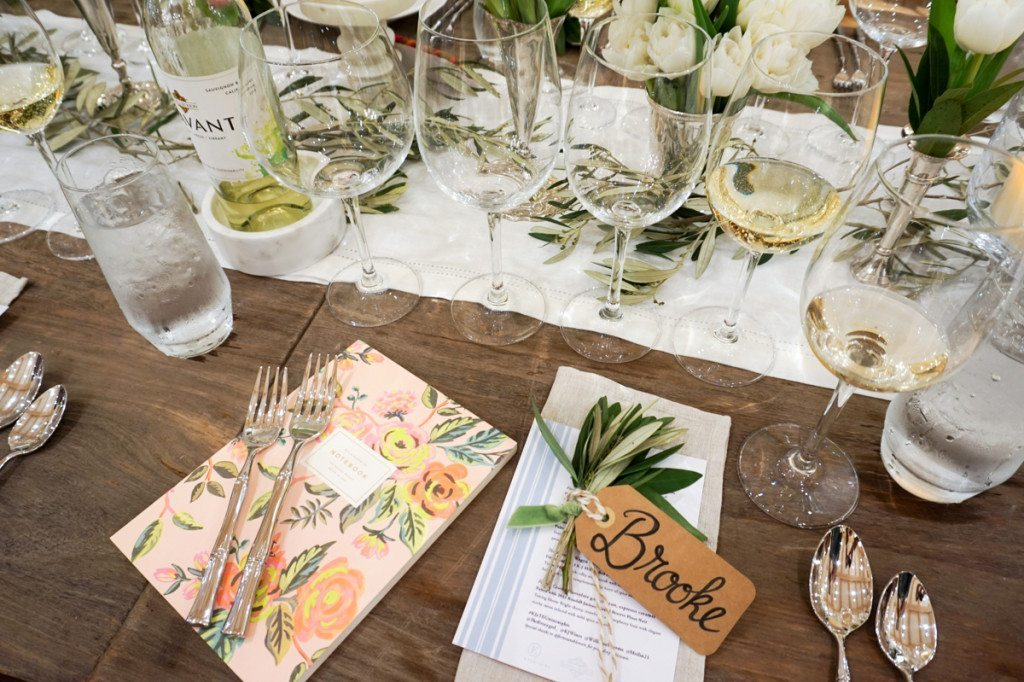 The Everygirl Dinner with Kendall Jackson Wines at William Sonoma
