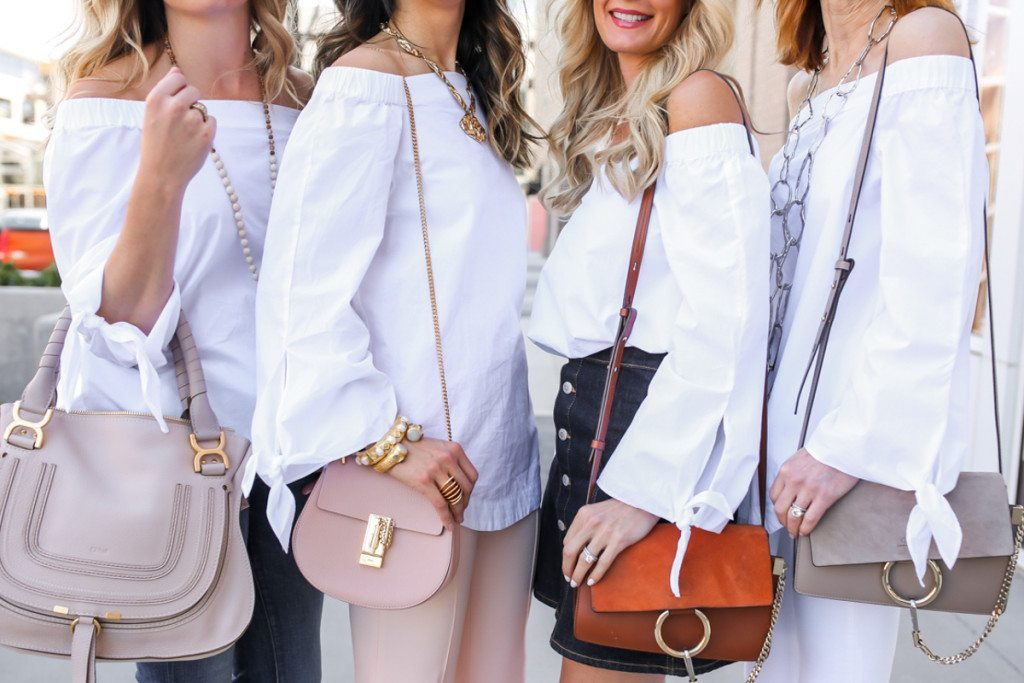 chic at every age - off the shoulder