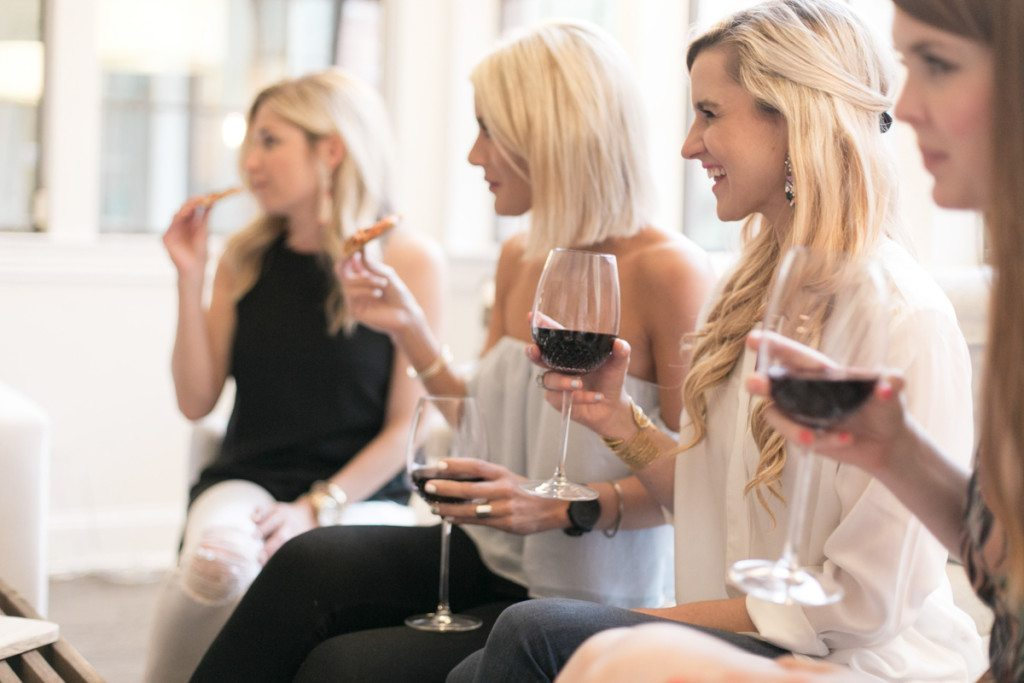 girls night with speak wines