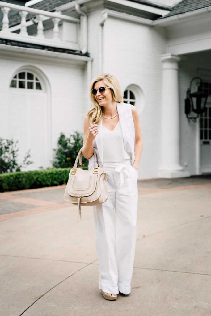 how to wear all white for a summer party-dallas fashion blogger all white outfit