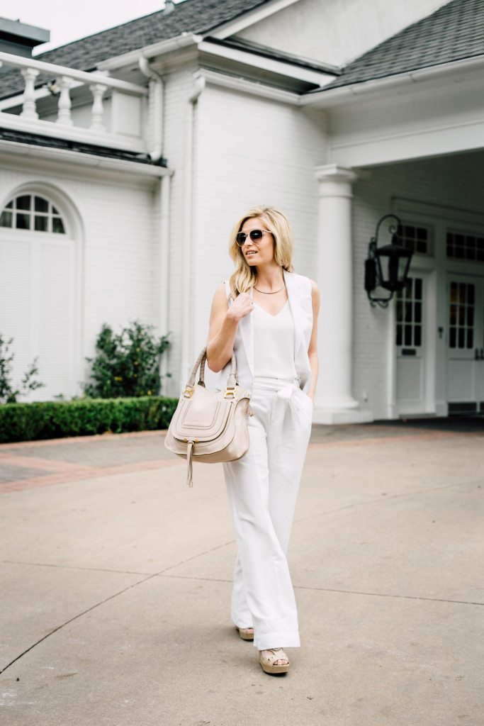 reward style conference all white party outfit-dallas fashion blogger