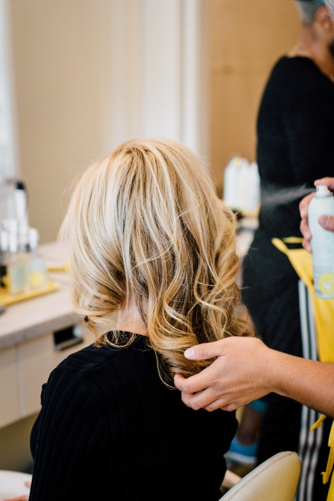 mothers day dry bar blowout