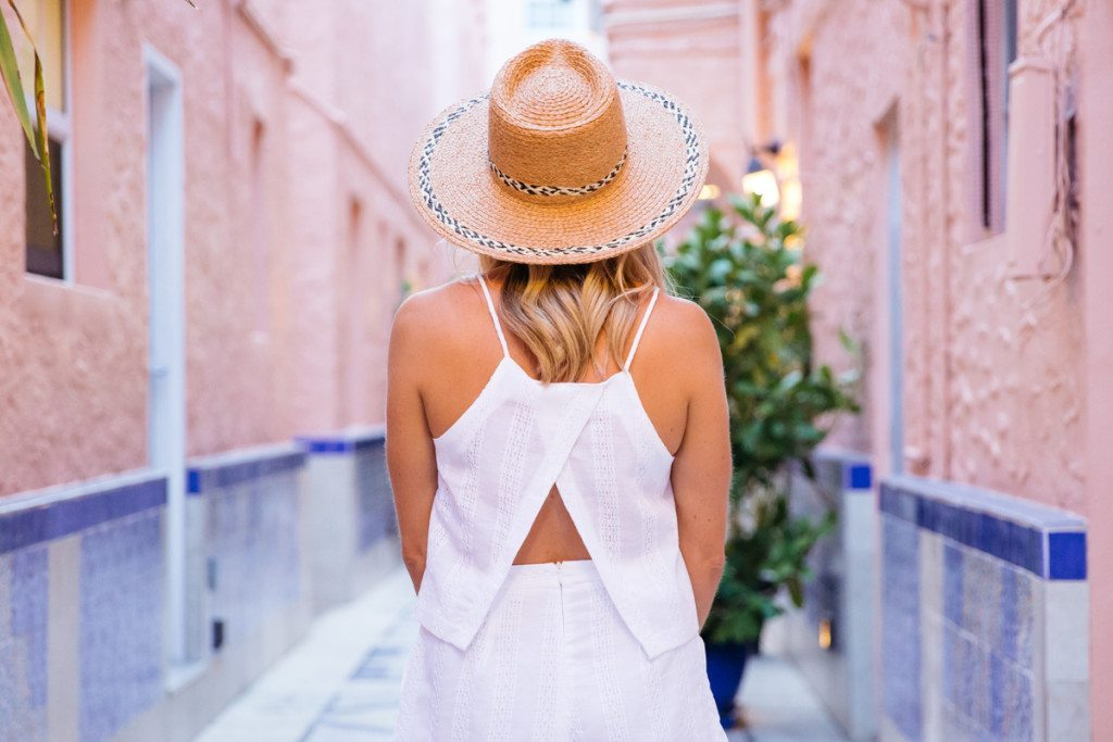 miami beach vacation - style for the beach - summer outfit idea - beach outfit - nordstrom shopping - straw hat - travel packing guide