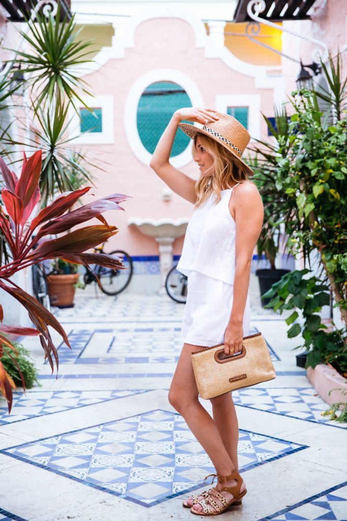 michael kors clutch - purse style guide - beach outfit idea - havana nights - white outfit ideas - summer style - spring style ideas