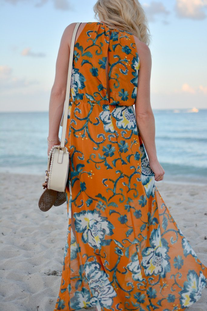 yellow floral maxi dress - summer style - beach vacation fashion - travel beach guide - maxi dress - spring styles - fashion blogger