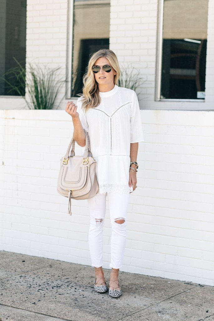 nordstrom sale - white lace tunic nordstrom anniversary sale - white tunic - white outfit
