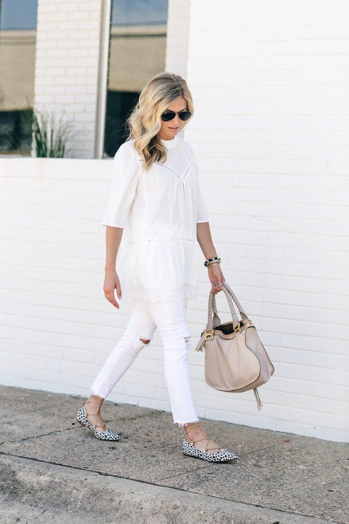 white lace top - white lace tunic  - dallas nordstrom sale - white tunic nordstrom anniversary sale