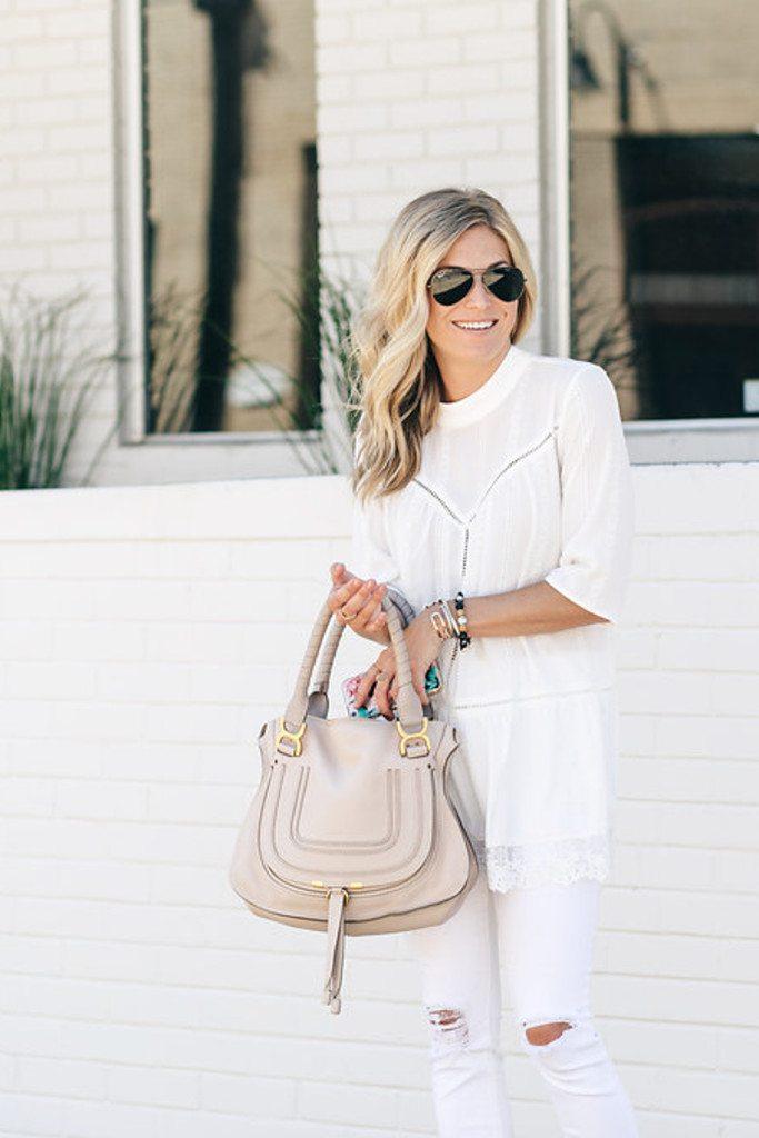 one small blonde - dallas fashion blogger - white lace tunic n sale - nordstrom anniversary sale