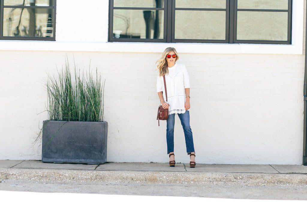 white lace tunic - nordstrom anniversary sale 2016 - dallas fashion blog