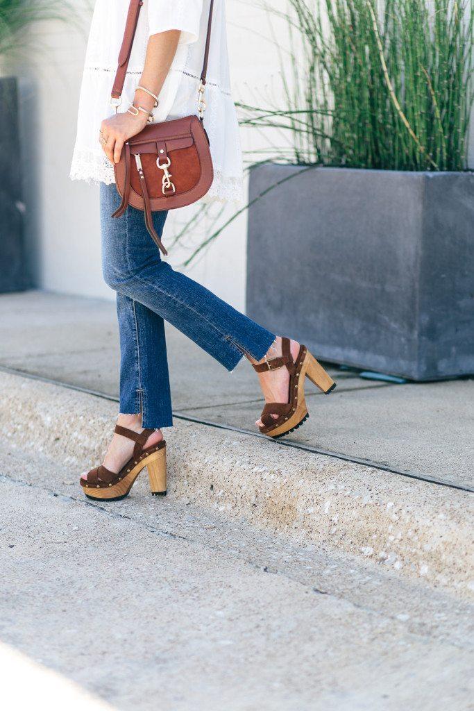 frame denim crop jeans